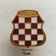 Badge (Pin) ZN002343 - Military (Army) War Insignia Croatian Herceg-Bosna (Bosnia) - Militari