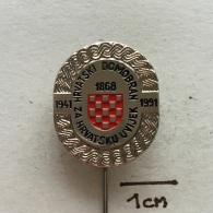 Badge (Pin) ZN002344 - Military (Army) War Croatia (Hrvatska) 1991 - Militaria