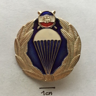 Badge (Pin) ZN002348 - Military (Army) Insignia Parachuting (Fallschirmspringen) Yugoslavia - Militair & Leger