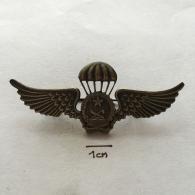 Badge (Pin) ZN002365 - Military (Army) Police Insignia Parachuting (Fallschirmspringen) Angola - Militaria