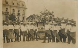 68 MULHOUSE - BELLE CARTE PHOTO 1918 - CORTEGE HISTORIQUE - Mulhouse