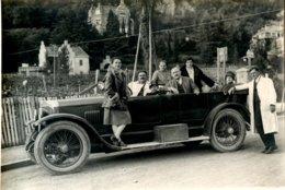 Bolzano,Bozen,FOTO, Mit Oldtimer, Großformat, Atelier Waldmüller, 5.10.1929, Auf Karton - Bolzano (Bozen)