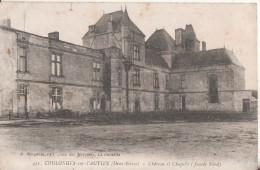 79  Coulonges Sur L'autize  Chateau Et Chapelle - Coulonges-sur-l'Autize