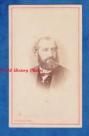 Photo Ancienne CDV Vers 1870 - AVRANCHES - Portrait Notable à Identifier - Photographie Ch. Allix - Pose Barbe - Fotos
