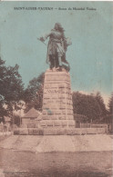 89 Saint Leger Vauban  Statue Du Marechal - Other Municipalities