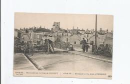 BARRICADE SUR LE FRONT DE NOMENY (54) 1914.15 (MILITAIRE) - Nomeny