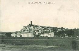 34 MONTADY  Vue Générale - France