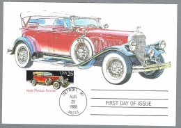 Amerika 1988 Maximumkarte - Pierce-Arrow 1929 - - Automobili