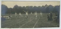 Athlétisme. Stade Jean Bouin, 1920. Instantané De L'arrivée D'une Course. - Sports