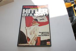 Hitler Est-il Mort - Galante - Books