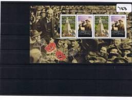 Australia 2008 Anniversary Of World War One  Mini Sheet MUH   783 - Mint Stamps