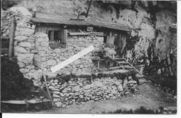 Alpes Soldats Autrichiens Devant Leur Abri Vila Eva KUK Italie Dolomites Trentin 1 Carte Photo 1914-1918 14-18 Ww1 - Guerre, Militaire