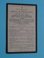DP Bernard De SCHEEMAECKER ( Paulina Van Acker ) Wippelgem-Evergem 25 Nov 1835 - 4 Mrt 1912 ( Zie Foto's ) ! - Overlijden