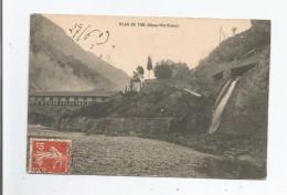 PLAN DU VAR (ALPES MARITIMES)  SOCIETE NICOISE D'ELECTRO...1909 - Frankreich