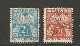 Type Gerbe  Années 1943/46 - Taxes