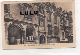 DEPT 18 : Bourges ; L Hotel Lallemant - Bourges