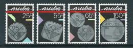 1988 Aruba Complete Set Coins,munten MNH,Postfris,Neuf Sans Charniere - Curaçao, Antilles Neérlandaises, Aruba
