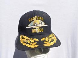 RADFORD DD.968 - U.S. NAVY   -  CASQUETTE OFFICIER - Casques & Coiffures