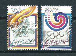 1988 Aruba Complete Set Olympic Games MNH,Postfris,Neuf Sans Charniere - Curaçao, Antilles Neérlandaises, Aruba