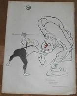 Aux Folies-Bergères Brothers Marco (Etude De Disloqué) - Toulouse-Lautrec – Le Rire N°59 - Lithographies