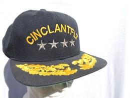 CINCLANTFLT  - U.S. NAVY   -  CASQUETTE OFFICIER - Casques & Coiffures