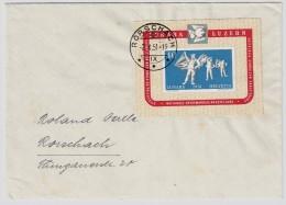 1951, Lunaba-Block, Lose Schon Fr. 180.-   , #5998 - Schweiz