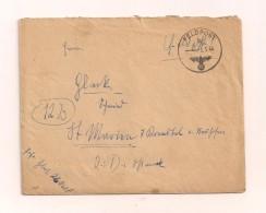 Feldpostbrief Samt Inhalt 3.3.1944 Von FP-Nr. 26960 F Nach St. Marien Kremstal Ostmark - Covers & Documents