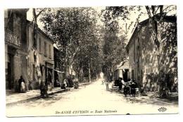83. STE ANNE D EVENOS.   ROUTE NATIONALE.  CPAA BIEN ANIMEE - France