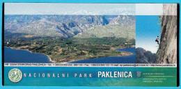 NP PAKLENICA - Croatia National Park Ticket * Sport Climbing Escalade Kletterei Escalada Arrampicata Alpinismo Billet - Sports