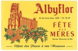 Buvard Albyflor, Fête Des Mères, Albi - A
