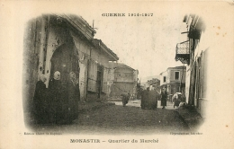 MONASTIR QUARTIER DU MARCHE - Serbie