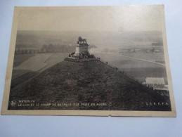 Le Lion Et Le Champ De Bataille-vue Prise D'avion - Waterloo