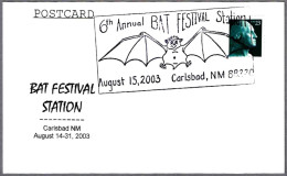 6th Annual BAT FESTIVAL - MURCIELAGO. Carlsbad NM 2003 - Fledermäuse