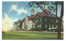 CPA - WAR COLLEGE, NEWPORT - Etats Unis, Rhode Island - Newport