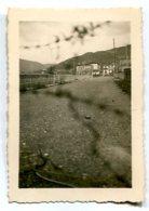 Photographie Privée Frontière Espagnole Béhobie 4 Avril 1947 - Lieux