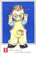 MABEL LUCIE ATTWELL - VALENTINES 879 In 1948 - I TAKE A PRETTY GOOD VIEW  Mla26 - Attwell, M. L.