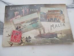 CPA MALTE MALTA - Malta