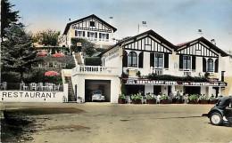 """- Depts Div.-ref-KK289- Pyrenees Atlantiques - Ciboure - Socoa - Hot""""el Restaurant Cafe """" Les Tourterelles """" - Hotels - - Ciboure"""