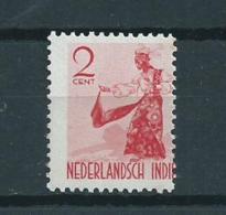 Nederlands Indië Verschoven Zegelbeeld - Nederlands-Indië