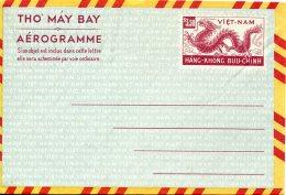 12071 Viet Nam,  Air Letter  Aerogramme 3,50 Mint - Viêt-Nam