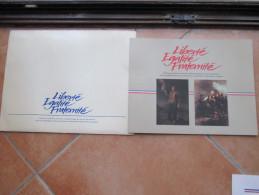 France 1989 Rivoluzione Francese FOLDER Uficiale Serie Foglietti + Varie LOTTO - Frankreich