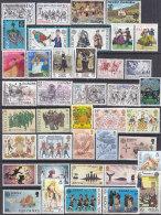 EUROPA  CEPT: Jahrgang 1981 Komplett,  Postfrisch **, 71 Marken - Europa-CEPT