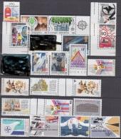EUROPA CEPT-Mitläufer:  21 Marken, Postfrisch **, Verkehrssicherheit, IPPT, NATO, U.a. 1986 - Europa-CEPT
