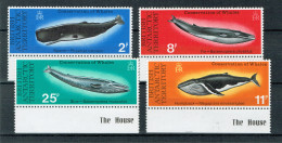 B.A.T. -  Wale 1977 (**/mnh) - British Antarctic Territory  (BAT)