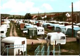 ANHEE (5537) - TOURISME : Les Caravanes Du Terrain De Camping Communal. CPSM Colorisée Extrêmement Peu Courante. - Anhee