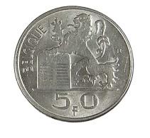 50 Francs - Belgique - 1949 - TTB - - 1945-1951: Régence