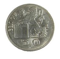 50 Francs - Belgique - 1948 - TTB - - 1945-1951: Régence