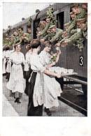 """(A) Künstlerpostkarte: Kriegspostkarten Von B.Wenerberg Bild-Nr. 2 """"Erfrischungsstation"""" Frankiert Gelaufen - Wennerberg, B."""