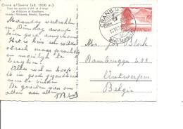Suisse ( CP De 1951 De Crans-sur-Sierre Vers La Belgique à Voir) - Suisse