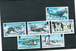 B.A.T. -  Robben & Pinguine 1992 (**/mnh) - British Antarctic Territory  (BAT)
